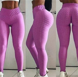 Free Ship 2020 New Women Fashion High Waist Slim Fitness Leggings Lady Casual Workout Yoga Legging Sporting Pants