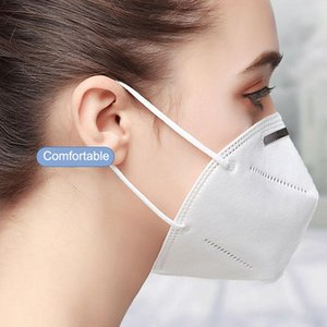 KN95 Mask Mask Adult Factory Supply Monouso 5 Layer Anti Dust Designer Protective Designer Face Mask Mascarilla FFP2
