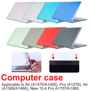 New Crystal Matte Case para Laptop Case Air Pro Retina11 12 13 15 16 polegadas Caso para 2020 Novo Pro13 A2251 A2289 A2179
