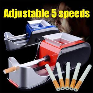 Cigarette Rolling Machine Electric Automatic Maker Tobacco Roller Cigarette Shape Metal Pipe Smoking Accessory One Hitter Tobacc Free DHL