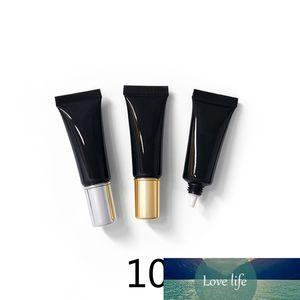 10G Noir Vide Cosmétique Conteneur 10ml Bouteilles en plastique Maquillage Eye Cream Eye Lotion Emballage Soft Tube Soft Tube Livraison Gratuite