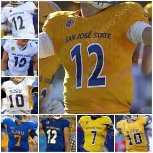 San Jose State Spartans Sjsu Football Jersey NCAA College Josh Love Dejon Packer Nick Nash Walker Gaher Hamilton Osuna Starkel Robinson