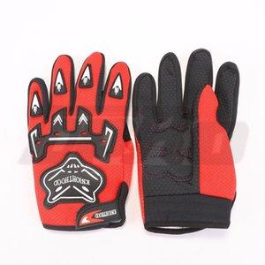 Luxury-TDPRO 1pair Red Motorbike 100% Nylon Motorcycle Heated Gloves Sports Kids Children Gear