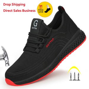 Xpuhgm Air Mesh Steel New Work Shoes Work Shoes Man Safety Light Weight Needle tightness Safety Laarzen Dropshipping