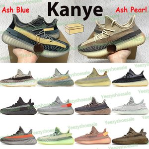 Chaussures de course Kanye Hommes Femmes Formatrices Sports Formateurs Ash Blue Stone Naturel Fade Cindargon Yecheil Earth Clay Yeshaya Reflective Beluga Mens Sneakers