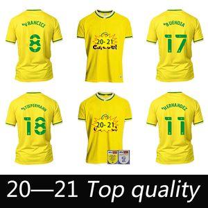 TOP QualityNorwich Pukki City Higll Soccer Technys 2020 21 Робертс Хернандес Буэндия Стейперманн Маклин Футбольная футболка