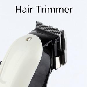 New Prolithium series Professional Hair Clipper white Men Electric Cordless Hair Trimmer 0mm Baldheaded T Blade Finish Haircut Machine