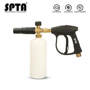 SPTA Snow Foam Lance Car Beauty Cleaning Tools High Pressure Foam Gun Finger Grip Snow Cannon Car Washing Sprayer1
