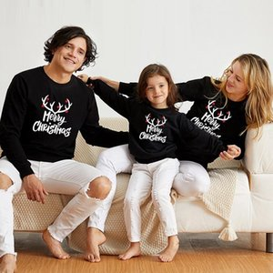 Christmas Tops Mommy and Me Matching Clothes Mother Daughter Father Son Mom Boys & Girls Sweatshirts Family Outfits Look