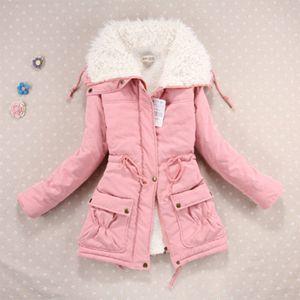 2020 New Casual Women Coat Lamb Wool Thickening Warm Winter Overcoat Jacket Coat Outwear Parkas S-2XL