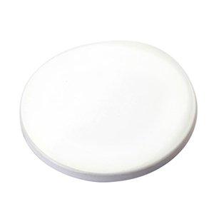 9cm Sublimation Blank Ceramic Coaster White Ceramic Coasters Heat Transfer Printing Custom Cup Mat Pad Thermal Coasters