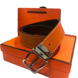 Moda Marca Cinturón de cuero genuino Cinturón de cinturón Diseñador de lujo de alta calidad H Hebilla suave Hombre Cinturones para mujer Cinturón de lujo Jeans Strap de vaca