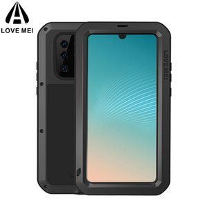 Love Mei Metal Shockproof Water Resistant Case For Huawei P30 Lite 20 Nova4 P20 Pro Mate 10Pro