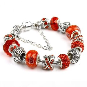 K 18 +3cm New Fashion European Charm Bracelets Fit For Women 925