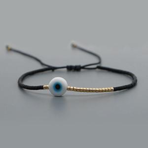 2020 Miyuki Bracelet Men Evil Eye Bracelets For Women Boho Jewelry Bohemian Pulseras Mujer Moda Adjustable Handmade Rope