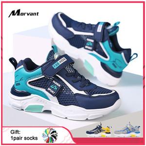 Soft Bottom Breathable Kids Non-slip Children's Sneakers for Boys Leisure Travel Shoes Q1123