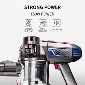 Handheld Wireless Vacuum Cleaner with Mites removal nozzle 150W 100V-240V Portable Cordless Dust Collector Floor Carpet Cleaner