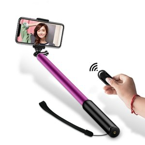 New Mini Selfie Tripod With Remote Control + 4 in 1 Wireless Bluetooth Selfie Stick For iPhone 8 7 6s Plus XS Max XR Portable