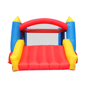 Red Little Tikes Inflatable Bouncer With Slide Garden Supplie Indoor Outdoor Classical Bouncy Castle Combo w  Dry Slides For Kids Party Play Fun