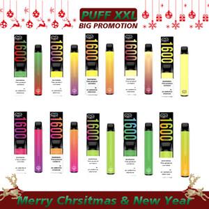 Puff xxl 1600 soplo desechable kit kit de soplo barras xxl vape pluma Puffar xxl vaporizador electrónico cigarrillo carros desechables vape