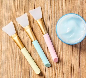 Silicone Face Mask Brush Mask Beauty Tool Soft Silicone Facial Mud Mask Applicator Hairless Body Lotion And Body Butter Applicator Tool