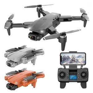 L900 PRO RC GPS Drone с 5G WiFi FPV 6-осевой GPRO 4K Dual HD камера оптического потока складной Quadcopter профессиональный мини DRON1