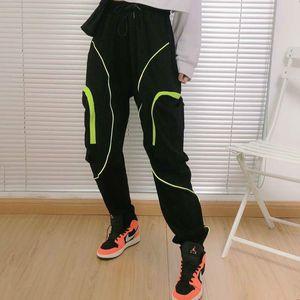 NK Hip Hop Men Pantalones Hombre High Street Kpop Casual Cargo Pants with Many Pockets Joggers Modis Streetwear Trousers Harajuku 5058