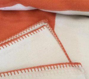 Letter Blanket Soft Wool Scarf Shawl Portable Warm Plaid Sofa Bed Fleece Spring Autumn Women Throw Blankets