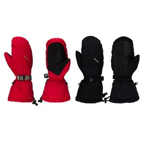 Winter Skiing Gloves Waterproof Windproof Non-slip Snow Skating Gloves Lengthen Thick Warm Mittens for Men Women