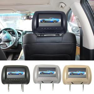 Automotive General 7-inch المخدعة الخلفية HD شاشة الرقمية السائل الكريستال عرض سيارة مسند رأس دي في دي مشغل