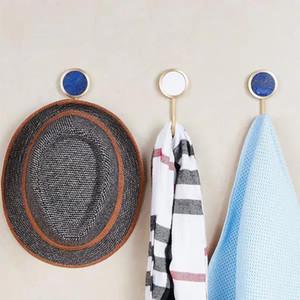 Living Room Furniture Hooks Door Marble Sapphire Patch Umbrella Hook Bedroom Wall Hook Decoration Bathroom Towel Rack Hanger