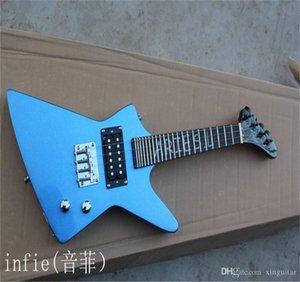 Бесплатная доставка Электрическая гитара Alien может изменить цвет электрической гитары