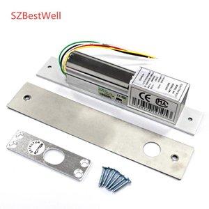 SZBESTWELL 2/5 Drähte Metall Elektrische Bolzenverriegelung Türschloss Normal / Niedertemperatur mit Zeitverzögerung für Zugangskontrollsystem Sicherheit