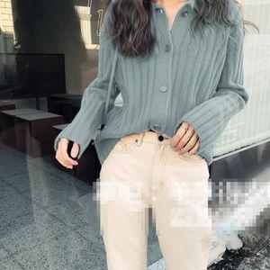 Attyyws nouveau revers cachemire cardigan cardigan cardigan chéri pour femme vapeur veste veste sauvage automne et hiver série 2019
