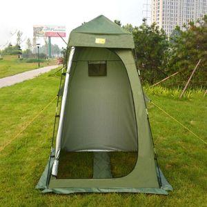 Палатки и укрытия 2021 Изменение душевой душевой конфиденциальность Палатка портативный укрывающий номер Rainproof Защита от солнца для отдыха на открытом воздухе
