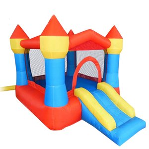Small Bouncer Inflatable Bounce House Trampoline Play Garden Supplie Jumping Jumper Fun Moonwalks For Kids Playground Castle Bouncy With Air Blower