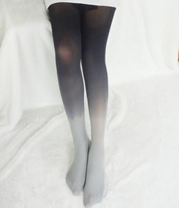 Top Qualité Chaussettes de couleurs à gradient chaud pour femmes Soik bas de la mode collants de luxe collants de luxe chaussettes LT