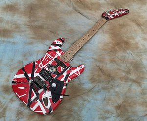 Eddie Van Halen Electric Guitar Heavy Relic / Aged Frankie Striped Guitar
