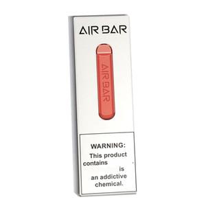 Air Bar Descartável Vape Pen 1.8ml 600 Puffs POD Cartuchos Airbar E Cig pods Dispositivo 801447 A + Bateria vs Flex