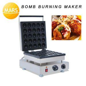 Mars 25 Adet Bomba Yanan Waffle Makinesi Makinesi Ticari Endüstriyel Büyük Izgara Balık Waffle, Top Waffle Maker