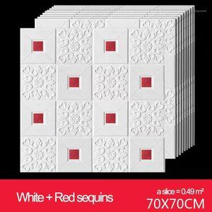 3d wall stickers White Brick Wallpaper Brick Peel and Stick Wallpaper - Contact Paper or Wall Self Adhesive1