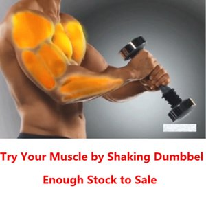 Shaking Weight Man Women Dumbbell For Keep Workout Fitness Exercise Equipment Muscle Toning Dumbbell Fitness Trainer for Gift Q1125