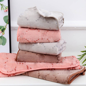 Double-sided g Letter Printed Towel Soft Absorbent Home Wash Face Towels Coral Velvet Comfortable Bath Towel Wholesale