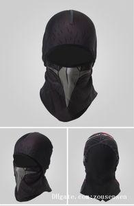 Cycling ear muff breathable sweat-proof headband sun protection headgear magic Tactical Half Face mask Thin Section Sports Headwear D1017