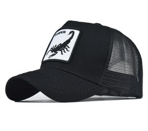 Animal Cartoon Mesh Baseball Caps Snapback Hats for Men Women Design Character Adjustable Outdoor Street Head Wear Hip Hop Summer Sun hat