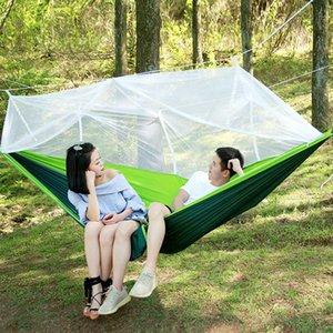 Ultralight Hammock Go Swing Mosquito Net 1-2 Person Sleeping Bed Outdoor Hunting Camping Tent Portable Camping Garden Hammock