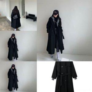7J6 мужские женщины женщины шерстяные дизайнерские пальто вскользь повседневная Япония korea Streetwear модный траншеи куртка пальто асимметрии шерстяные мужчины воротник