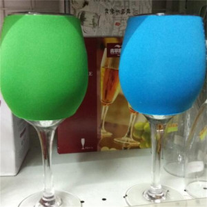 Embroidery Cup Sleeves Neoprene Goblet Covers Green Black Blue Wine Glass Koozie He Sleeve New Arrival 1 7xy L1