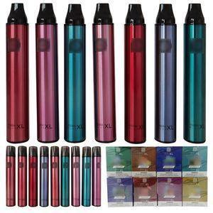 Rauch 1500 Puffs Dampf Posh plus XL Einweg-Vape-Stift-Lebensmittel-Snack-Maschinengerät Elektronische Zigaretten-Verdampfer