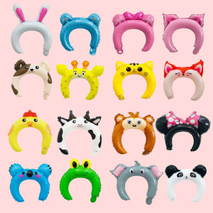 Children's Day Cartoon Animal Cat Koala Frog Child Hair Band Toy Party Balloons Festival Wedding Head Wear